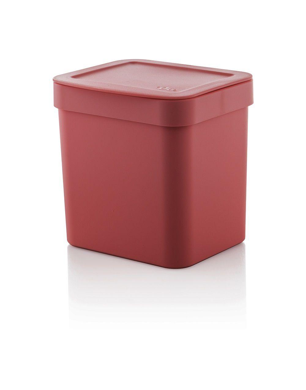 Lixeira Trium 2,5l Vermelha