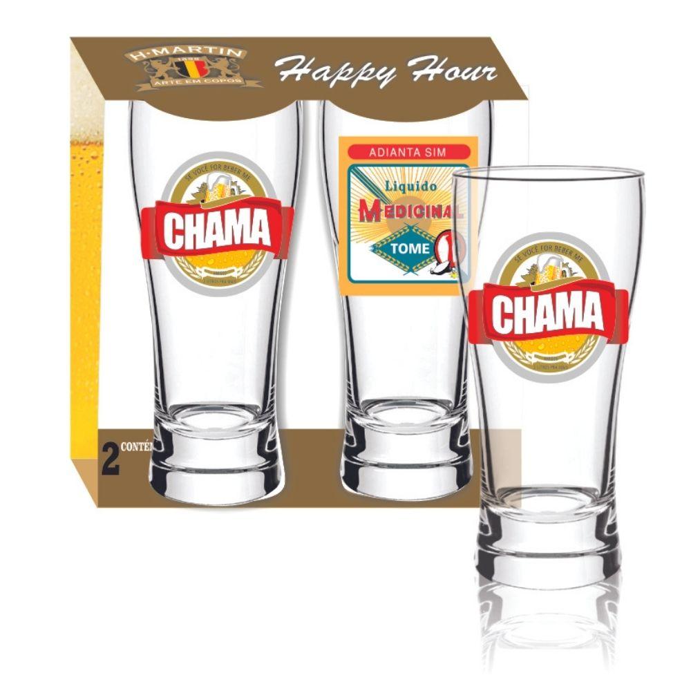 Luva com 2 Copos Joinville Cerveja BR 200ml
