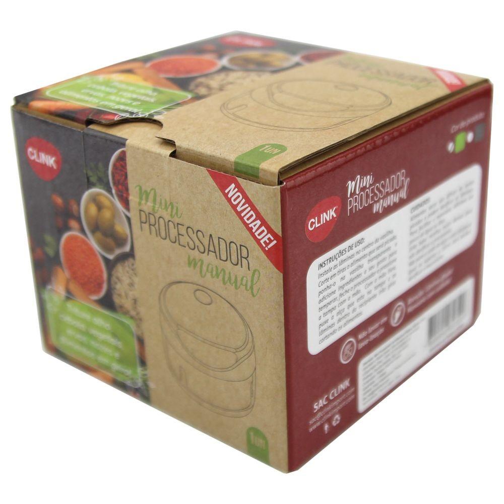 Mini Processador de Alimentos Manual Clink