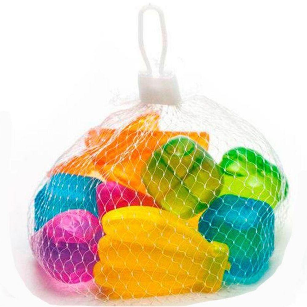 Pacote 10 Cubos para Gelo Frutas