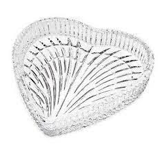 Petisqueira em Cristal Lyor Heart 18,7cm