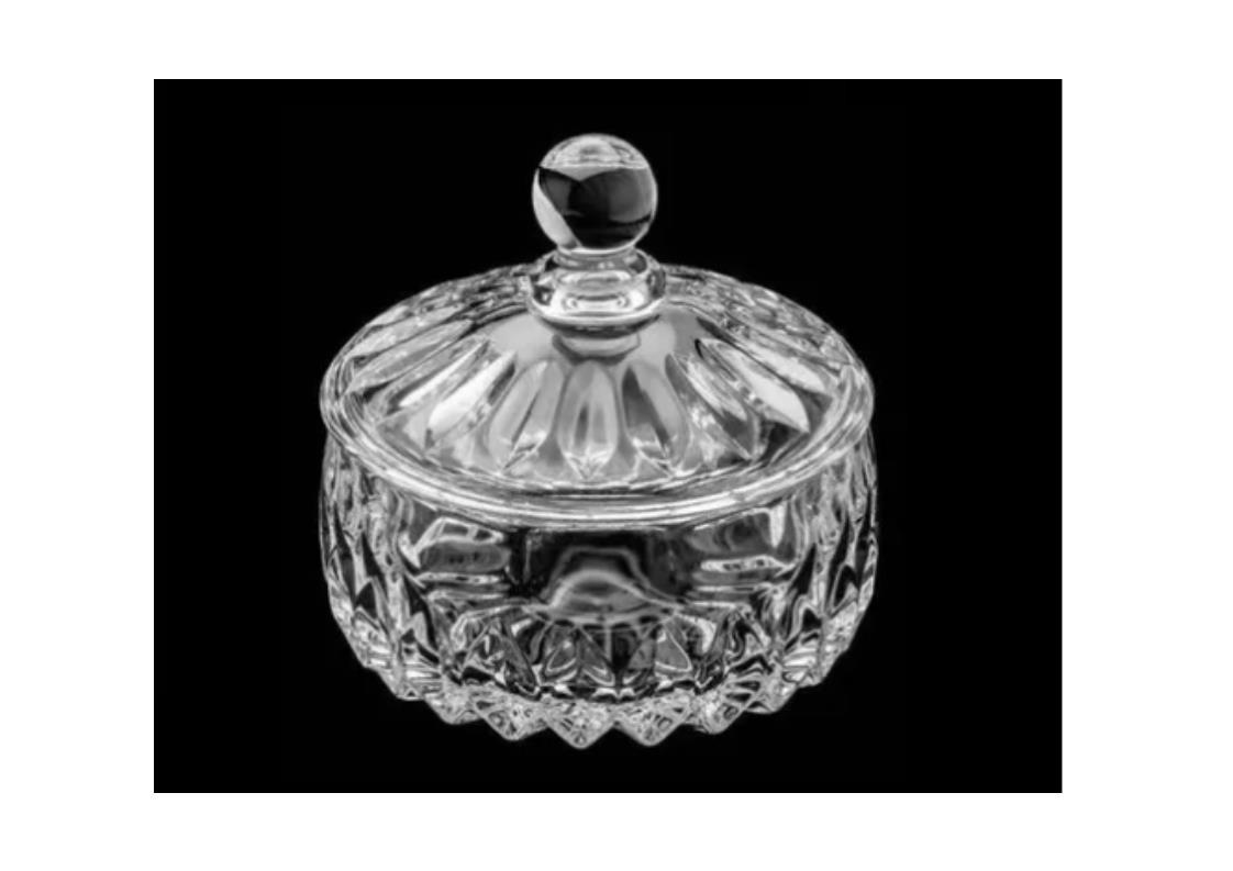 Potiche Cristal Louise Transparente