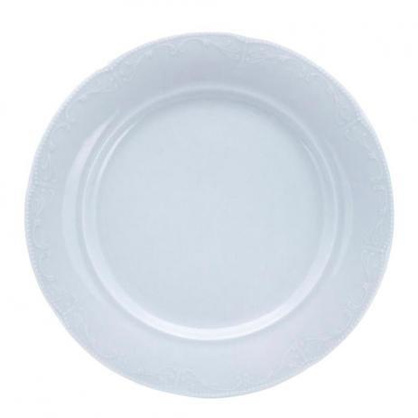 Prato Raso Caprice Porcelana 27cm Mimo Style