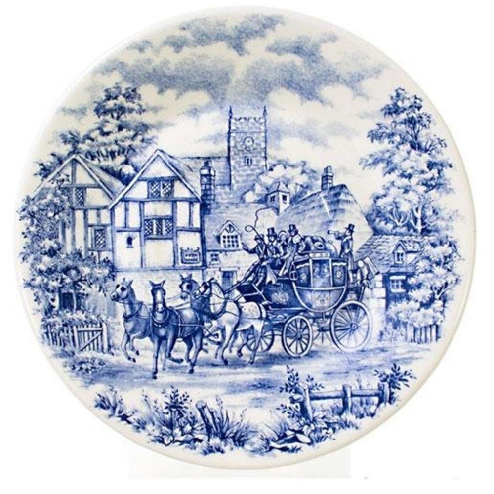Prato Sobremesa Cerâmica 19 cm Biona Cena Inglesa