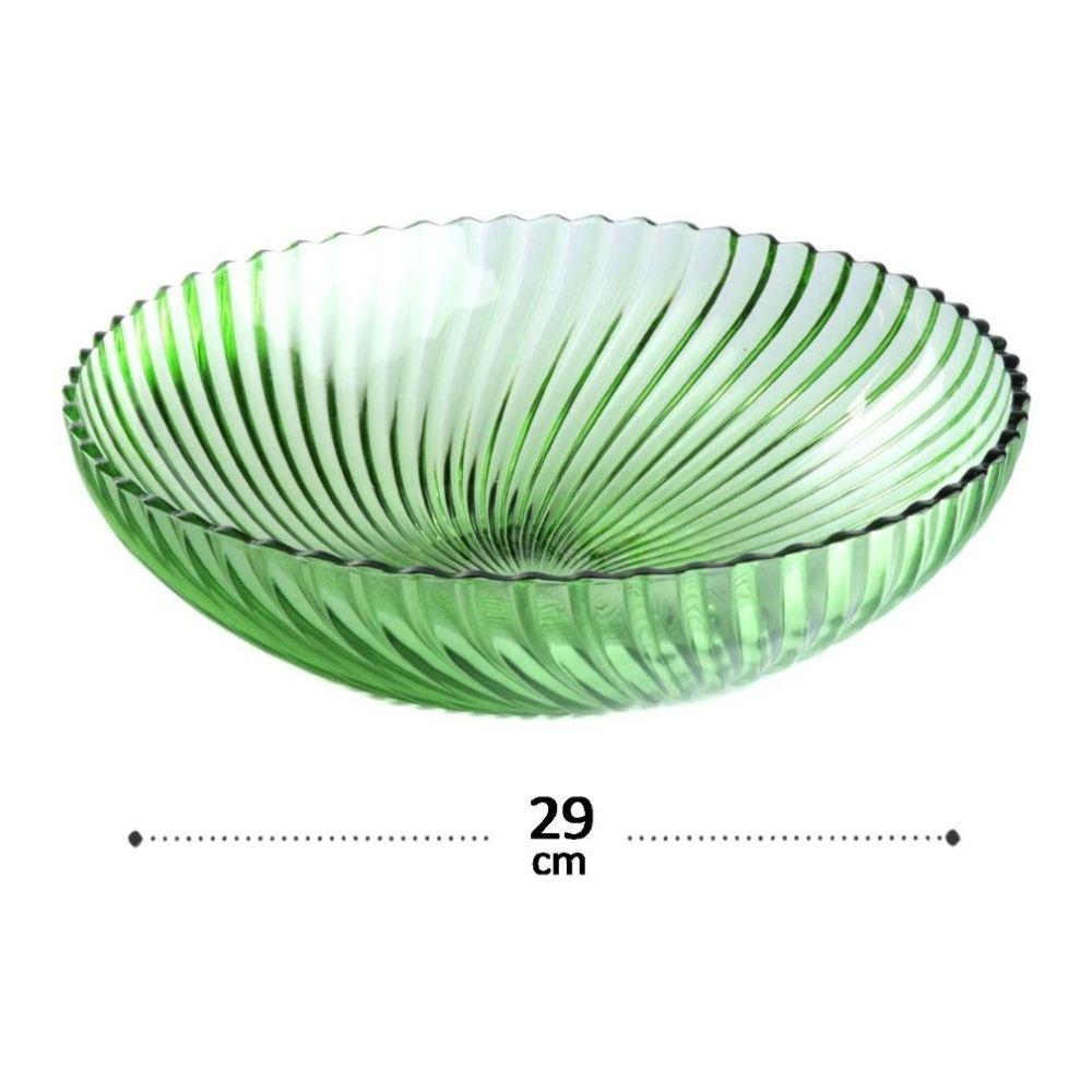 Saladeira de Vidro 3,2 L Santa Verde