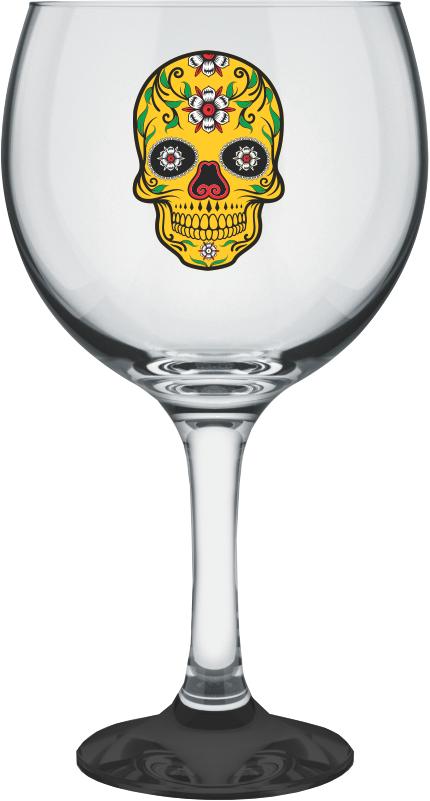 Taça para Gin Tônica Caveira 600 ml