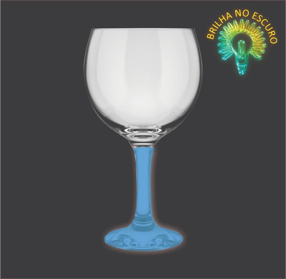 Taça GinTônic Base Color Azul Neon 600ml