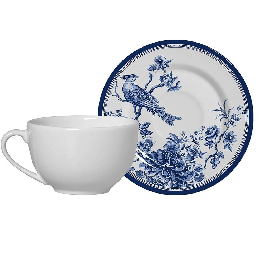 Xícara de Café com Pires Chinese Garden