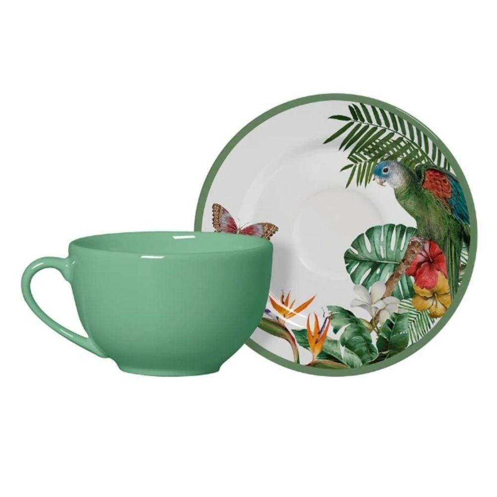 Xícara de Chá com Pires Paradiso