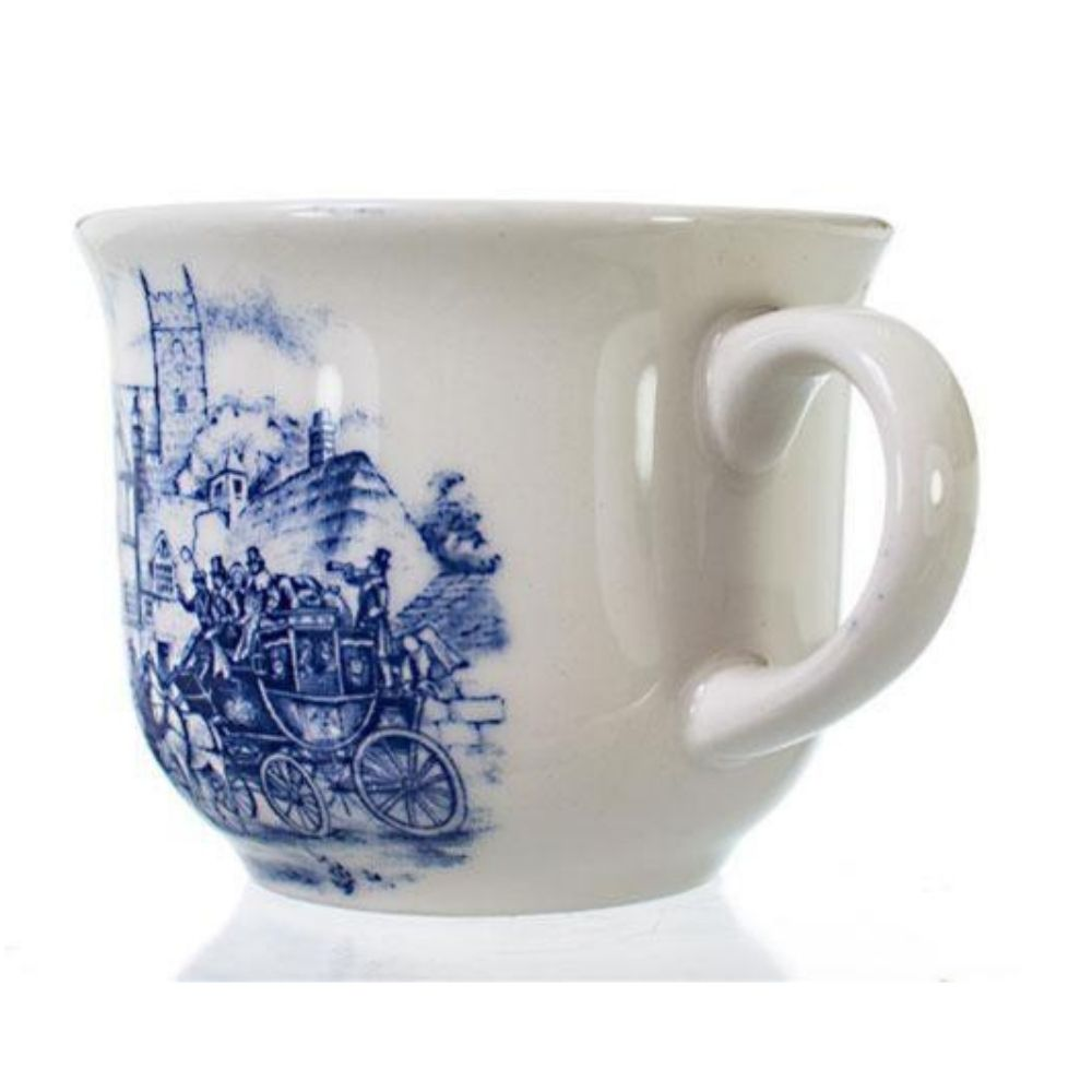 Xícara de Chá Oxford com Pires Cena Inglesa