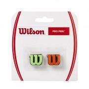 Antivibrador Wilson Profeel Verde e Laranja