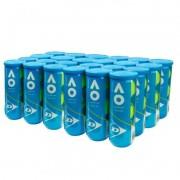 Bola de Tênis Dunlop Australian Open - Caixa com 24 tubos