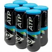 Bola de Tênis Dunlop Championship ATP - Pack com 6 tubos