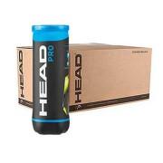 Bola de Tênis Head Pro - Caixa com 24 tubos