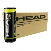 Bola de Tênis Head Team - Caixa com 24 tubos