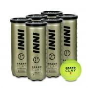 Bola de Tênis Inni Grand Clay - Pack com 6 tubos