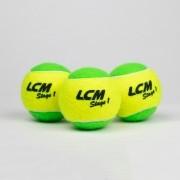 Bola Soft 1 Verde LCM - 3 unidades