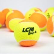 Bola Soft 2 Laranja LCM - Saco com 60 unidades