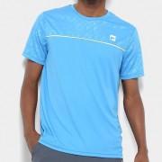 Camiseta Fila Masculina Square Azul