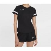Camiseta Nike Dry-Fit Feminina Academy Top Preta e Branca