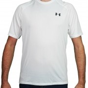 Camiseta Under Armour Masculina Tech 2.0 Branca