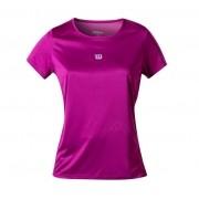 Camiseta Wilson Core Feminina Roxa/Violeta
