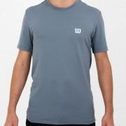 Camiseta Wilson Trainning X Masculina - Cinza Escuro