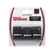 Pacote 3 Overgrip Wilson Ultra Wrap Preto