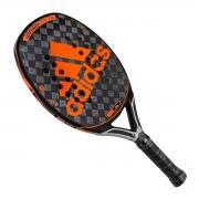 Raquete de Beach Tennis Adidas Adipower Ctrl 2.0 Preto e Laranja