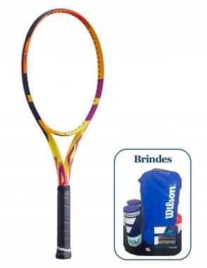 Raquete de Tênis Babolat Pure Aero Rafa + Brindes