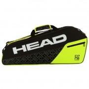 Raqueteira Head Core 3R Pro Preto e Verde Limão