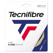 Set de Corda Tecnifibre X-One Biphase 17 1.24mm Natural