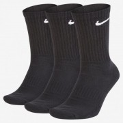 Tripack de Meia Nike Cano Longo - Preta