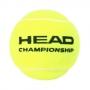 Bola de Tênis Head Championship - Tubo 4 bolas