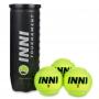 Bola de Tênis Inni Tournament - Tubo 3 bolas