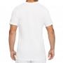 Camiseta Nike Masculina Rafa Dry Tee Branca e Preta