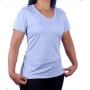 Camiseta Under Armour Feminina Tech Twist Gola V Azul
