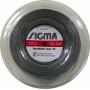 Corda Sigma Synthetic Gut 16 1.30mm Rolo 200m Prata