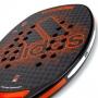 Raquete de Beach Tennis Adidas Carbon CTRL 2.0 Preta e Laranja