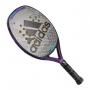 Raquete de Beach Tennis Adidas Essnova Woman 2.0 Preto e Roxo