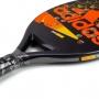 Raquete de Beach Tennis Adidas V7 Preta e Laranja