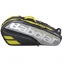 Raqueteira Babolat X9 Pure Aero VS Preta e Amarela