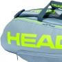 Raqueteira Head Extreme 6R Combi Cinza e Amarela