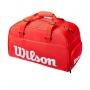Raqueteira Wilson Esp Super Tour Small Duffle Vermelha