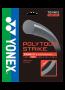 Set de Corda Yonex Poly Tour Strike 16L 1.25mm Preta
