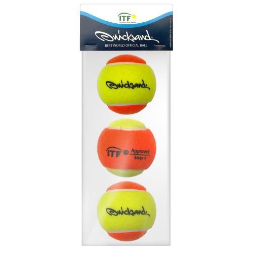 Bola de Beach Tenis Quicksand - 3 unidades