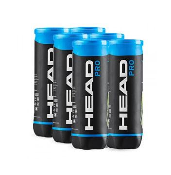 Bola de Tênis Head Pro - Pack com 6 tubos