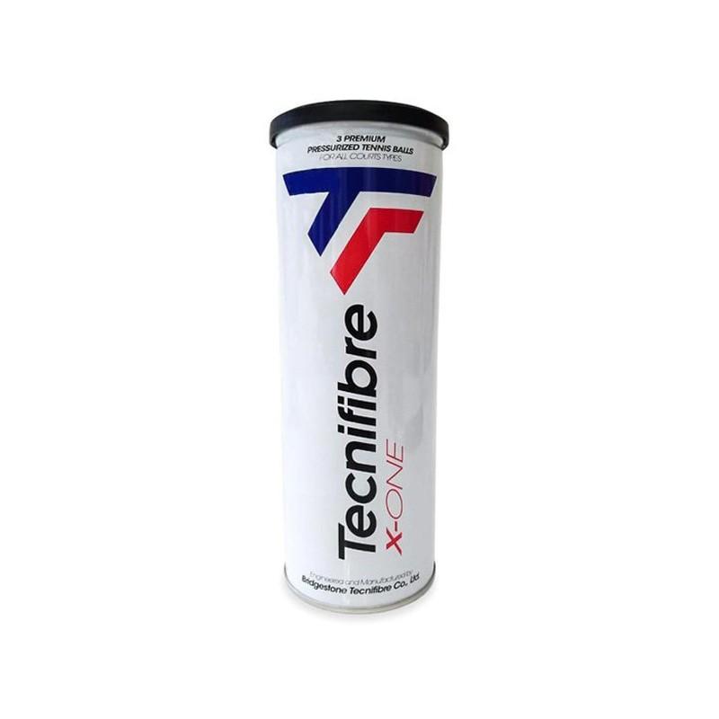 Bola de Tênis Tecnifibre X-One - Tubo 3 bolas