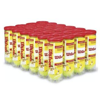 Bola de Tênis Wilson Championship Extra Duty - Caixa com 24 tubos