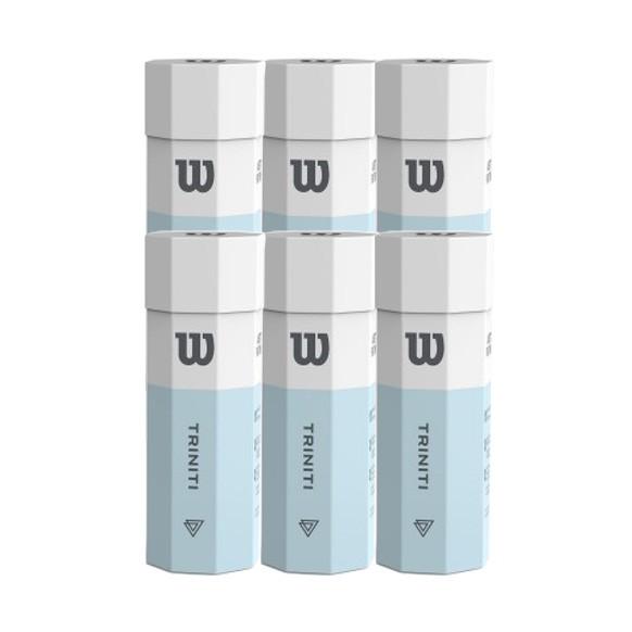 Bola de Tênis Wilson Triniti - Pack com 6 tubos